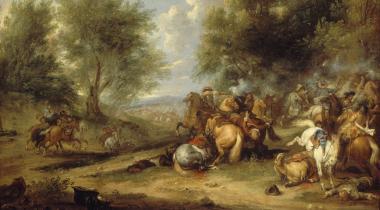 Van der Meulen, Choc de cavalerie, PDUT948