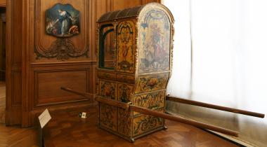 Anonyme, Chaise à porteurs, OTUCK59