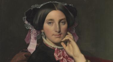 Ingres, Portrait de Madame Caroline Gonse, Montauban, musée Ingres-Bourdelle