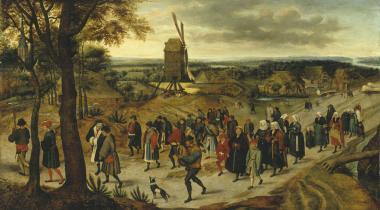 Pieter Brueghel le Jeune, Le cortège de noce