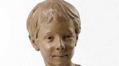 Larche, Buste d'enfant (portrait présumé de Marcel Lerolle), PPS3810