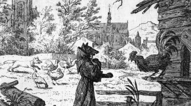 Allaert van Everdingen/ Le Blaireau à qui le Renard a confessé ses fourberies