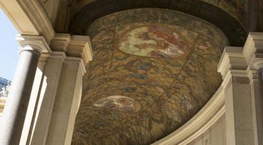 Paul-Albert baudouin, Les saisons et les heures, décor du péristyle du Petit Palais