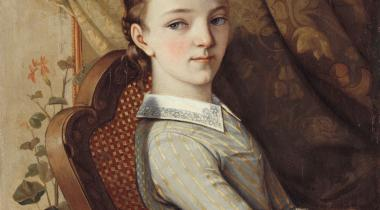 Courbet, Portrait de Juliette Courbet