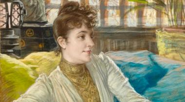 James Tissot, Portrait de Mathilde Sée, PPD5394