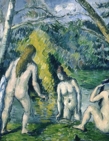 Trois baigneuses