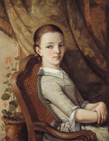 Portrait de Juliette Courbet