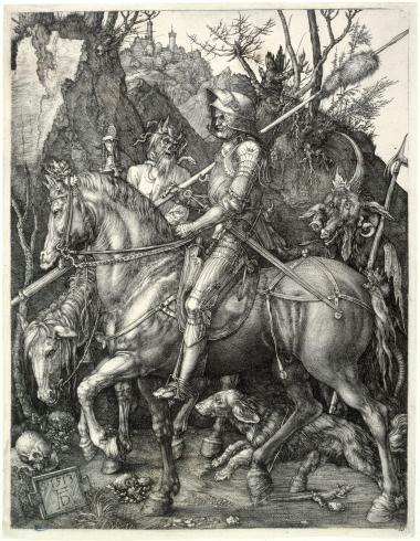 Le Chevalier, la Mort et le Diable (Bartsch 98)