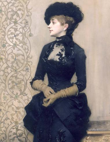 """""""La Femme aux gants"""" dite """"La Parisienne"""""""