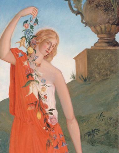 Cézanne, Les quatre saisons - Le printemps, PPP3048
