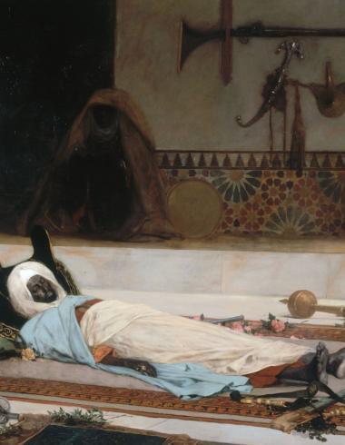 Le Jour des funérailles, scène du Maroc (La Mort de l'émir)