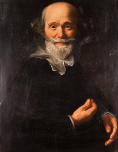 De Vries, Portrait d'homme, PPP4980 : avant restauration