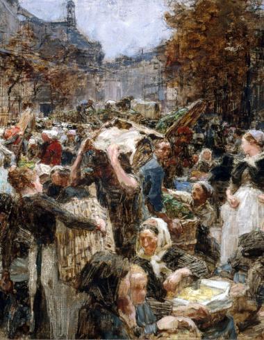 """Esquisse pour """"Les Halles"""""""