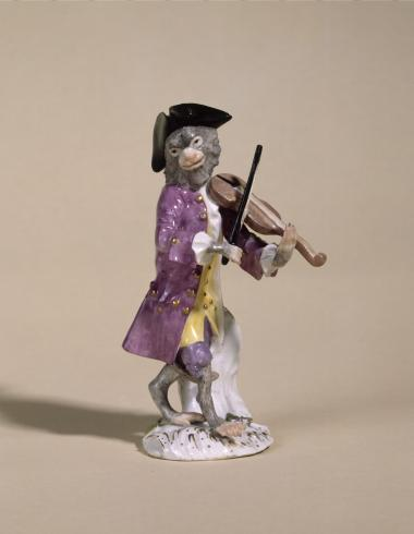 Singe violoniste
