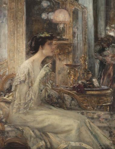 En soirée, Madame Pascal Blanchard