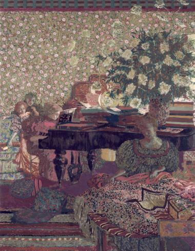 Vuillard, Personnages dans un intérieur. La musique, PPP2440