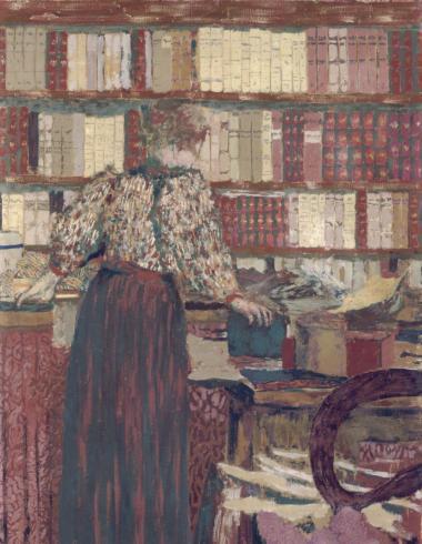 Vuillard, Personnages dans un intérieur. Le choix des livres, PPP2441