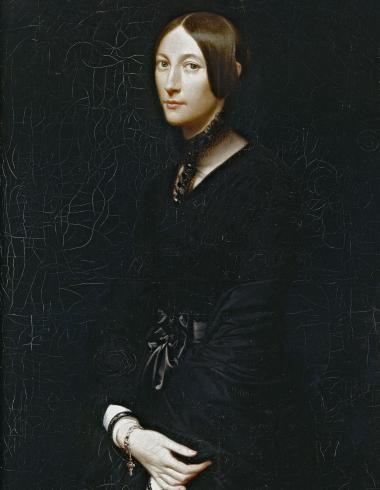 Victoir-Louis Mottez, Portrait de Julie Mottez