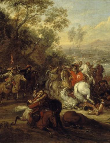 Van der Meulen, Choc de cavalerie, PDUT949