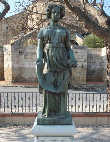 Maillol, Pomone drapée du Monument aux morts d'Elne