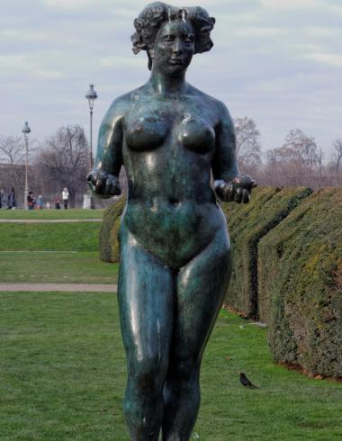 Maillol, Pomone en bronze du jardin des Tuileries