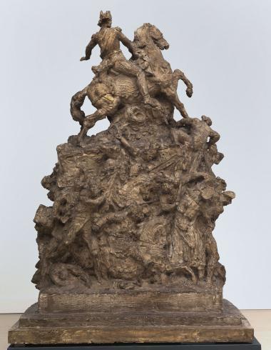 Carpeaux, Esquisse pour le Monument au Maréchal Moncey, PPS954