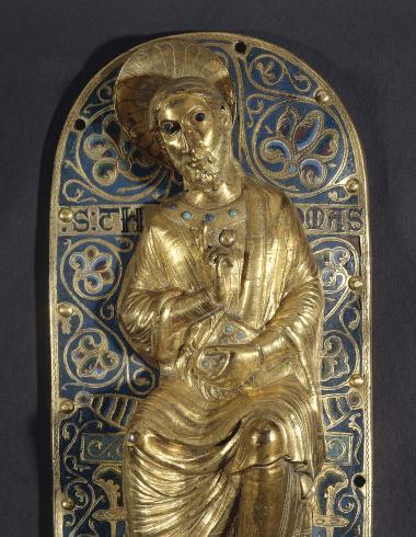 Plaque de parement : Saint Thomas
