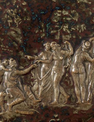 Dalpayrat, Plat : Le Jugement de Pâris, PPO03803