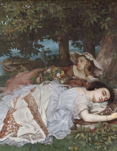 Les Demoiselles des bords de la Seine (été)