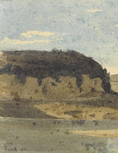 Paysage aux environs de Rome