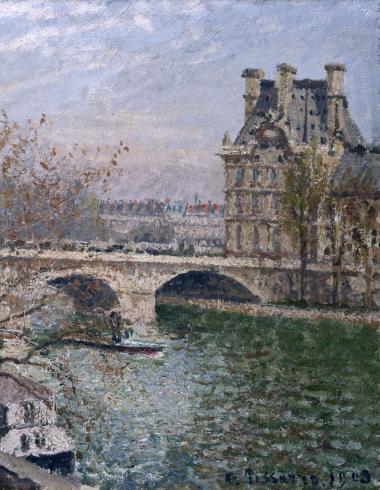 Le Pont Royal et le Pavillon de Flore