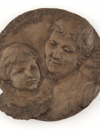 Portrait de Jeanne et Mme Albert Dammouse