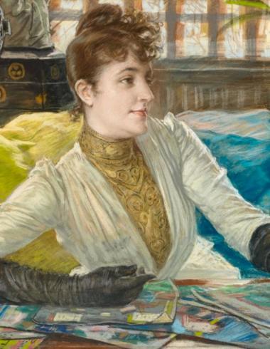 James Tissot, Portrait de Mathilde Sée, PPD5394