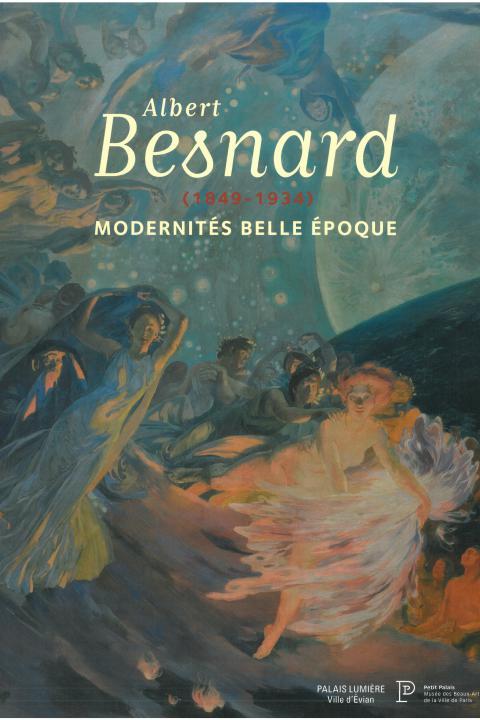 Couverture de l'exposition Albert Besnard au Petit Palais