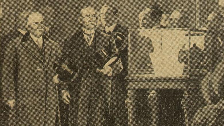 Inauguration de la collection Tuck