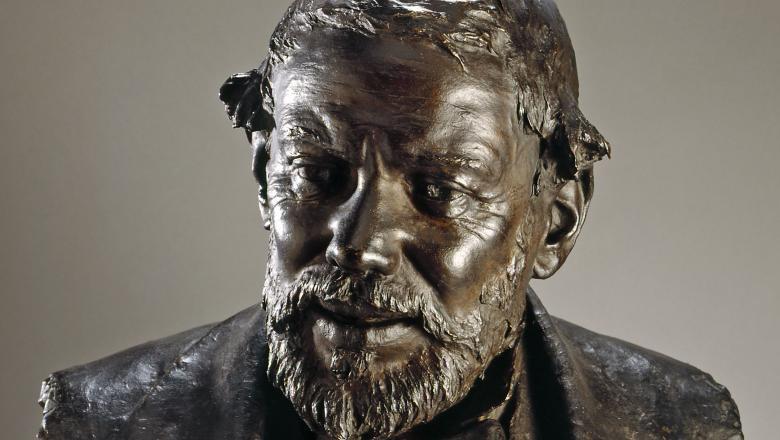 Pasquale Fosca - Buste d'Auguste Dutuit