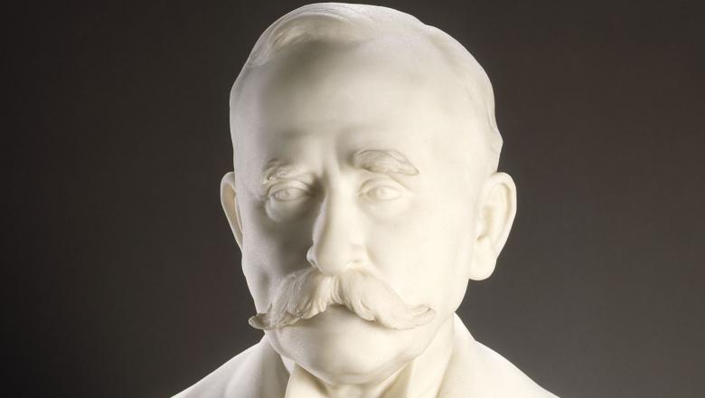 Louis Lejeune - Buste d'Edward Tuck