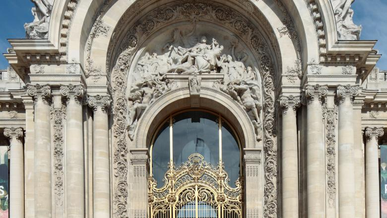 Façade extérieure du Petit Palais