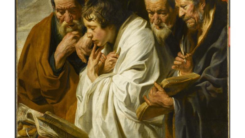 Jacques Jordaens, Les quatre apôtres, vers 1625-1630 / Crédit : RMN-Grand Palais (musée du Louvre)/René-Gabriel Ojéda