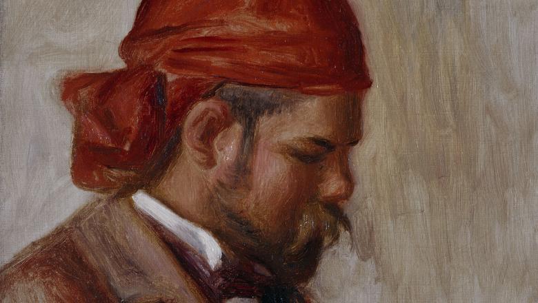 Renoir, Ambroise Vollard au foulard rouge