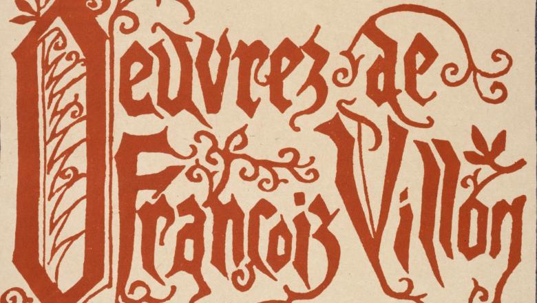 Œuvres de François Villon