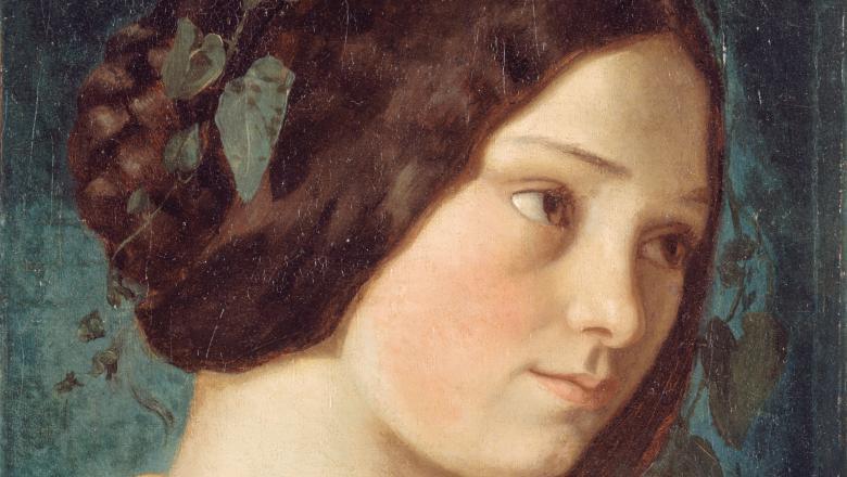 Courbet, Portrait de Zélie Courbet
