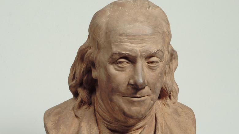Buste de Benjamin Franklin d'après Houdon