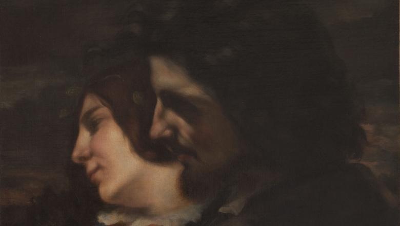 Courbet, Les amants dans la campagne. Sentiments du jeune âge