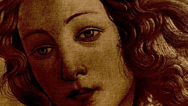 """L'une des affiches de l'exposition """"L'art italien de Cimabue à Tiepolo"""""""