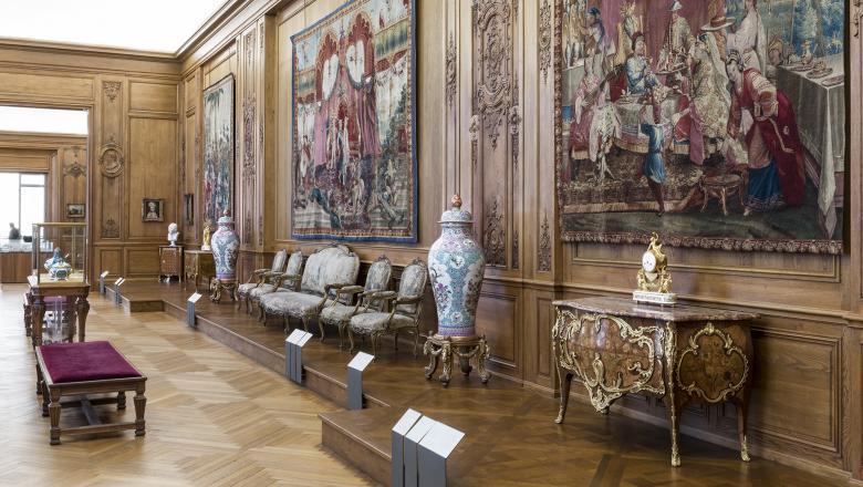 Vue de la galerie Tuck. © Pierre Antoine