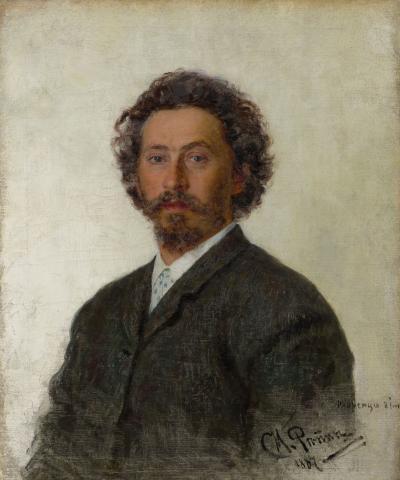 Ilya Répine, Autoportrait, 1887.