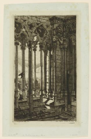 Meryon, La Galerie Notre-Dame