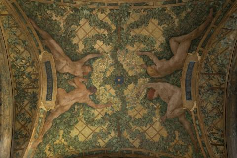 Paul-Albert baudouin, Le Printemps, décor du péristyle du Petit Palais