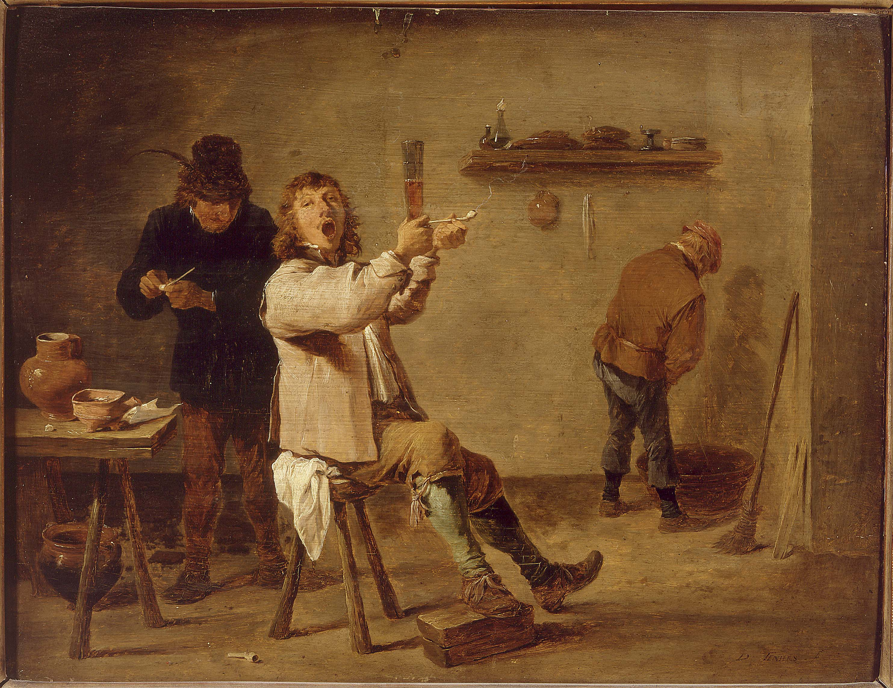 David Teniers the Younger - Smokers